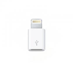 Преходник No brand, Micro USB към Lightning, Бял - 14978