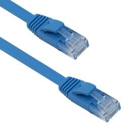 Кабел DeTech LAN - LAN, Cat:6, Flat, 3.0m - 18131