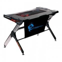Геймърско бюро, Dragon War, GT-004, LED, Черен – 6099
