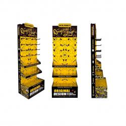 Подов стелаж, Remax, 650x400x1830, Жълт с черен - 14840